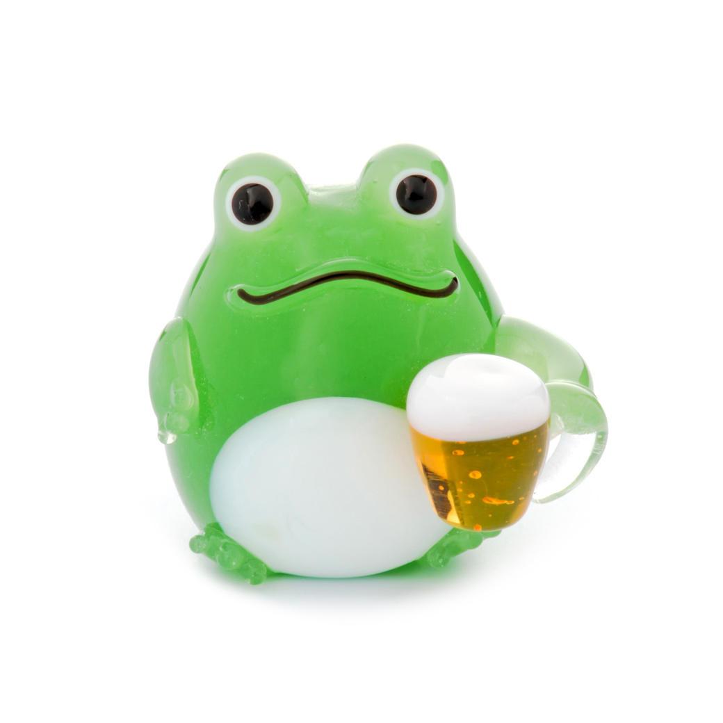 丸型カエル ビール